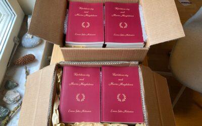 Födelsen av min nya bok